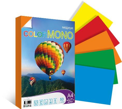Color mono 50 листов медиум 3d коллаж